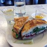 Chicken Cranberry Sandwich