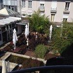 Vue du balcon de notre balcon