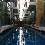 la piscine couloir de nage