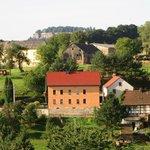 Blick auf Dorf und den Königstein
