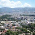 panorama dall'Acropoli