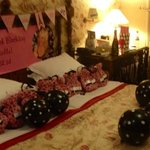 My room decorated for my 60th birthday!