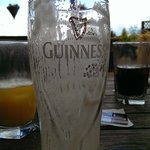 Draught Guinness at the Chairmakers Pub (After)