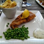 Fish & Chips at the Chairmakers Pub