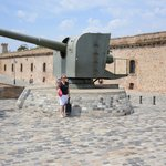 One of several canons to help defend the city