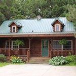Evergreen Log Cabin