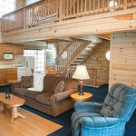 Blue Jay Log Cabin