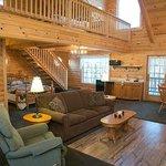 Owl's Perch Log Cabin Unit