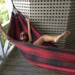 Loved the hammock on our patio :)