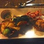 Stuffed Lobster for dinner! :) mmmm