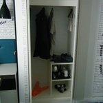 not much storage space!