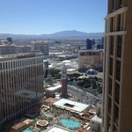 looking south over the Venetian