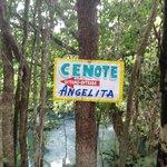 Cenote Angelita .