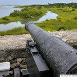Cannon at Fort Matanzas