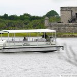 Boat to Fort Matanzas