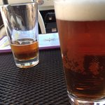 Yuengling on draught