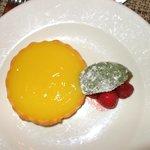 meyer lemon basil tart