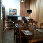 dining room and living room - Retired Ranger House