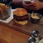 My brother had the burger and said it was one of the best in New York