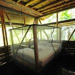 our romantic four poster beds are all netted, eventhough ther are almost never mosquitos