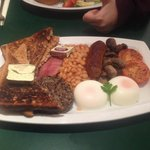 Scottish all day breakfast, yes please.