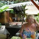 un planteur en Terrasse, la douceur des Antilles