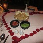 Guacamole and pico de gallo at Agave
