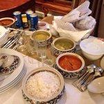 Dinner in room