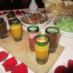 Margarita tasting at Agave