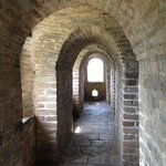 Inside one of the towers