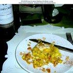 Appetizer: Almond & Saffron Wrapped Chicken