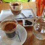 amazing presentation of Coffee