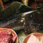 Fresh fish produce