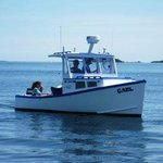 The Gael, a lobster boat converted to passenger use