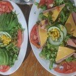 House and avocados salad
