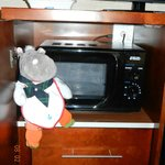 the microwave- and my hippo