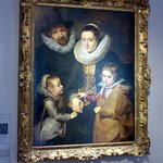 Reubens Bruegal family portrait at The Courtauld Gallery