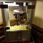 loved the popcorn in the lobby in the evenings!