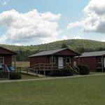 The three B & B cabins