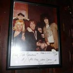 Old Motley Crue picture.... inside the Rainbow!