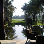 Lovely setting of the Hyatt Regency Hotel in Yogyakarta...