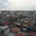 The view from the 5th and 6th floor at B&B Hanoi
