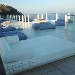pool deck area - overlooking the ocean