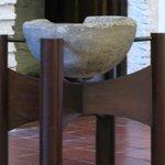 Pia de batismo em Marmore