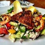 Mahi Mahi & Shrimp Salad