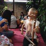Thai music lesson