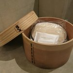 Bamboo basket, not for dim sum?