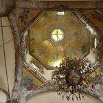 El techo de la antigua basílica