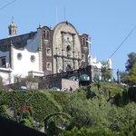 Esta iglesia está en el cerro del Tepeyac