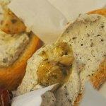 Truffle cream sandwich